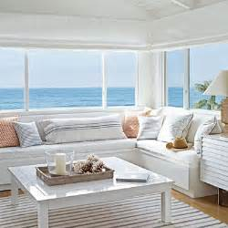 Home Beach Decor Beached Themed Living Room Decor Blissfully Domestic