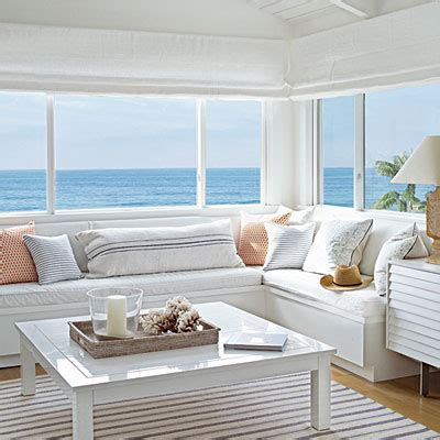 seaside home decor beached themed living room decor blissfully domestic