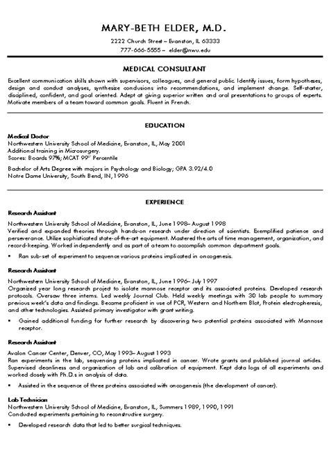 doctor curriculum vitae template http www