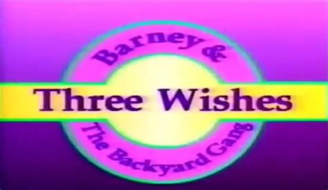 youtube barney and the backyard gang barney and the backyard gang three wishes 1989 youtube