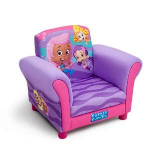 bubble guppies couch delta children bubble guppies upholstered chair baby