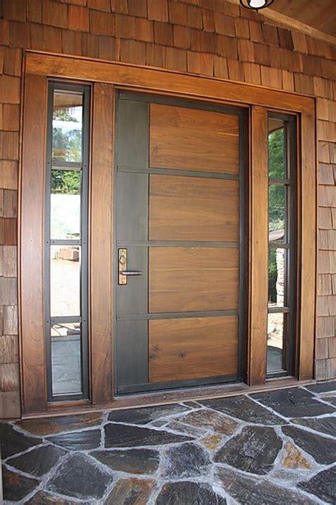 modern door type  main entrance contemporary front