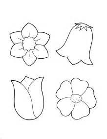 Simple Flower Outline Az Coloring Pages