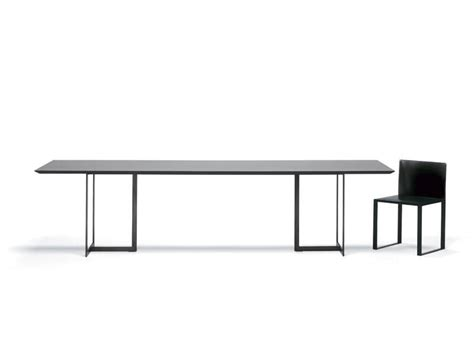 Minimal Table Design | table with minimal design metal and glass for living