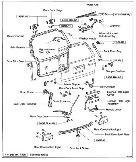 toyota questions how do you open the rear hatch