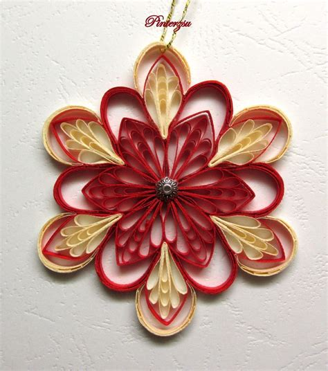quilling christmas ornament patterns 150 best images about quilled snowflakes on quilling ornament and
