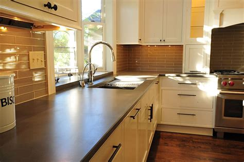 Save Money And Pour Your Own Concrete Kitchen Counter Tops Concrete Kitchen Countertops