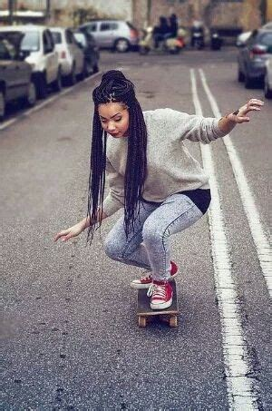 hairstyles for skate boarders 1000 ideas about box braid styles on pinterest box