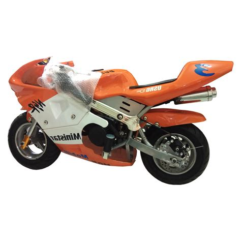 Mini Pocket mini bike pocket bike orange color 49cc dc outdoorsports