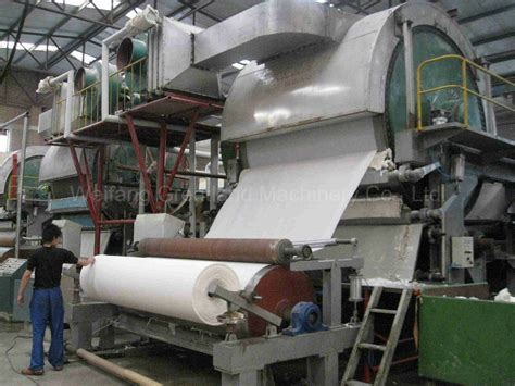 Paper Factory - china 2900mm tissue paper machine for paper factory