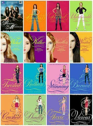 descargar libros de pretty little liars pdf 19 differences between the series and the book pll amino