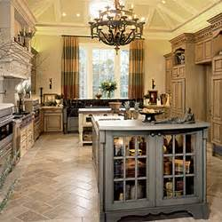 Kitchens With Bars And Islands tuscan style kitchen design tastespotting