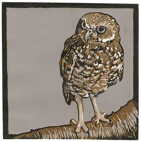 burrowing owl printable pictures burrowing owl by barbara stikker linocut print artful home