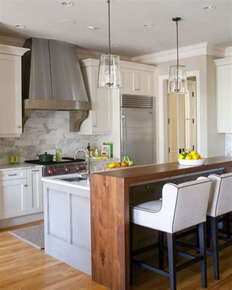 Space Around Kitchen Island by 25 Stylish Kitchen Bar Counters For Open Layouts Digsdigs