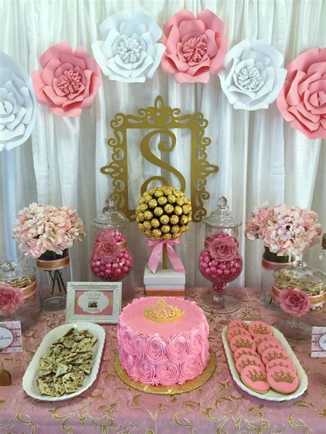 Gold Baby Shower Decorations by Pink And Gold Baby Shower Baby Shower Ideas Pink