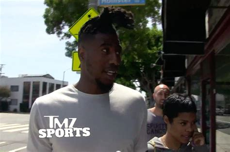 flatop dreads in ponytails cavaliers iman shumpert trades in his flat top for new