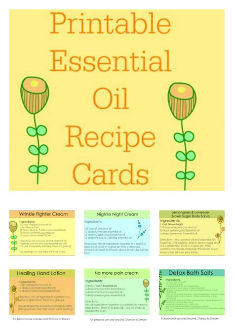 Printable Essential Oil Recipes | merry monday link party 92 st patrick s day my