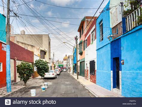 studio home desing guadalajara typical mexican house guadalajara jalisco mexico stock