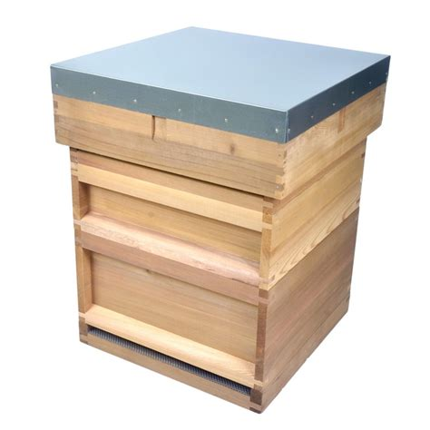 Single Home Floor Plans British National Bee Hive Made From Western Red Cedar