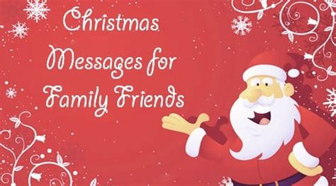 messages for friends and family messages for family and friends merry