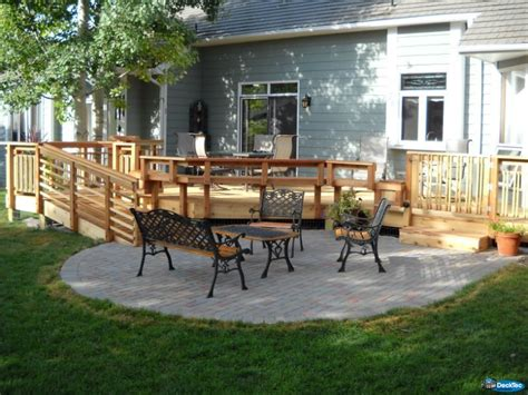 Deck & Patio Combinations   DeckTec Outdoor Designs