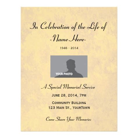 the cover of jake s celebration of life program special