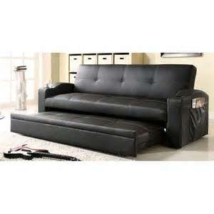 vinyl trundle sofa i want one