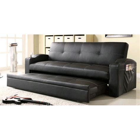 sofa with trundle vinyl trundle sofa i want one