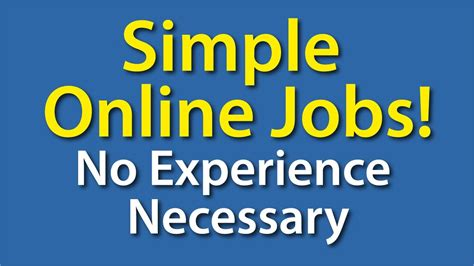 Free Online Jobs Work From Home Canada - online job with no experience needed how can i make money online as a student