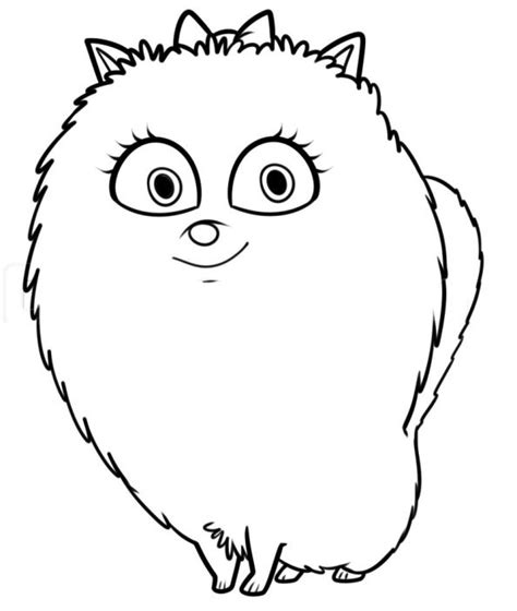 The Secret Life Of Pets Coloring Pages Getcoloringpages Com Buddy The Coloring Pages