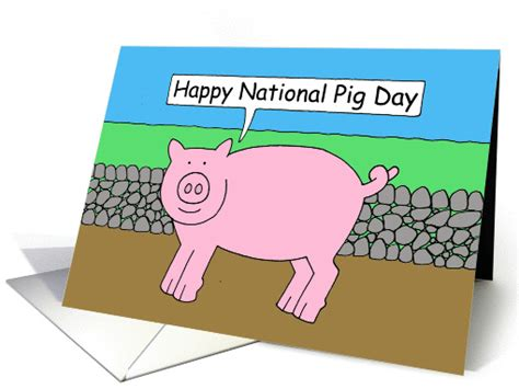 happy pig day happy national pig day card 1351768