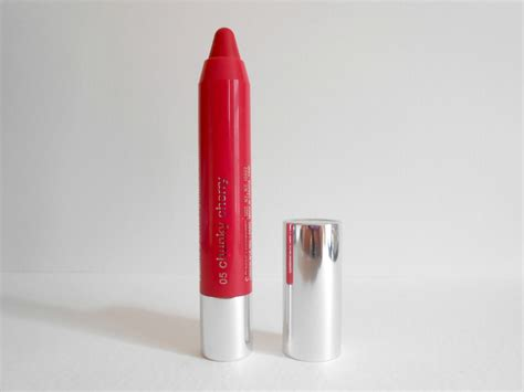 Clinique Stick Chunky Cherry peachy review clinique stick in chunky cherry