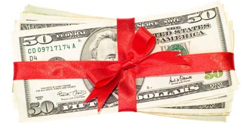 I No Money For Gifts - gift policy reminder one spirit