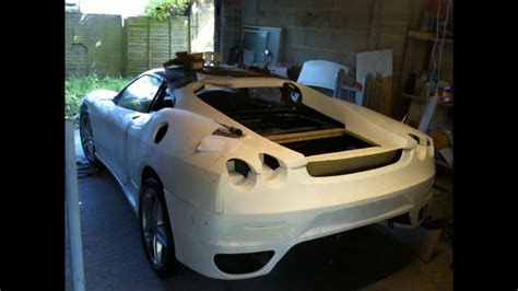 ferrari replica ferrari f430 replica kit car build youtube