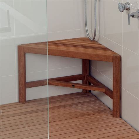 teak shower bench corner pin by ame hofmann koples on home pinterest