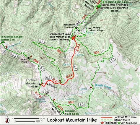 map of oregon lookouts another day june 2014
