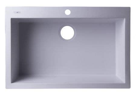 30 Inch Drop In Kitchen Sink Alfi Ab3020di Black 30 Inch Drop In Single Bowl Granite Composite Kitchen Sink Ab3020di W