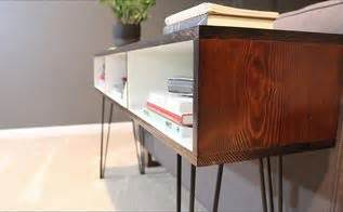 build mid century modern furniture diy wood crate hometalk