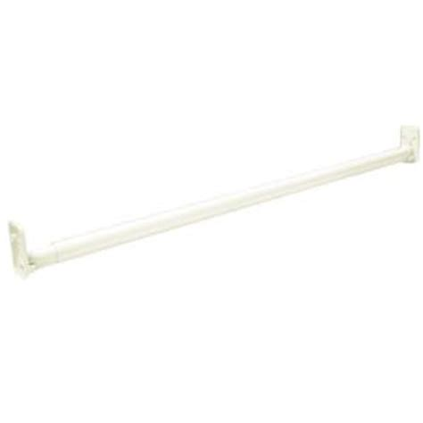 Closetmaid Adjustable Rod Closetmaid Selectives 30 In 48 In White Adjustable