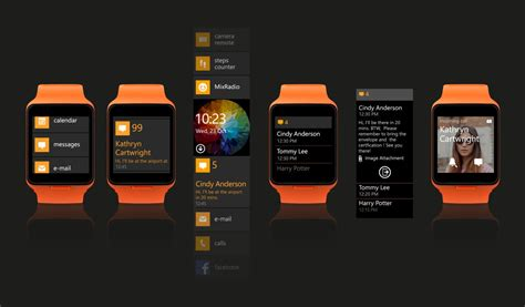 Smartwatch Microsoft windows 10 smartwatch concept we must this