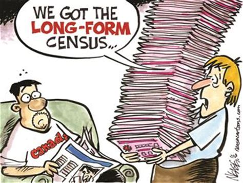 The Long Form Census Is Back And Were Elated | today s cartoon long form census is back