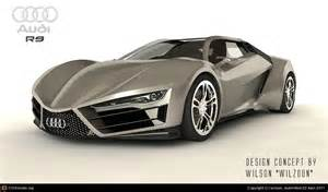 audi r9 concept by wilson chen 3d cgsociety