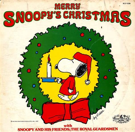 royal guardsmen merry snoopys christmas vinyl lp album discogs