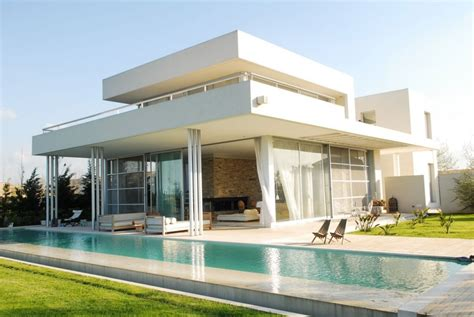 modern house plans with pool exterior modern white agua house with pool interior