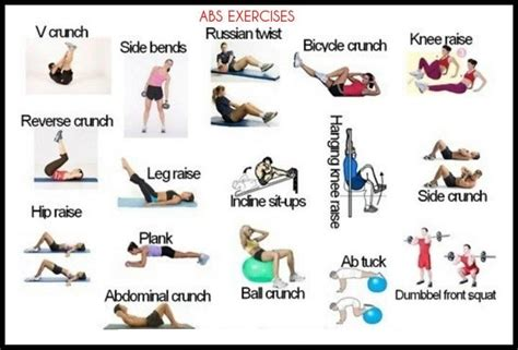 Desk Exercises For Abs by Workout