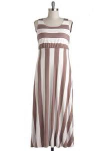 Modcloth top of the byline dress in taupe in brown maxi lyst