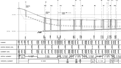 drainage section drawing sumner consultancy drainage sumner consultancy