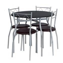 argos kitchen furniture buy home oslo dining table 4 chairs black at