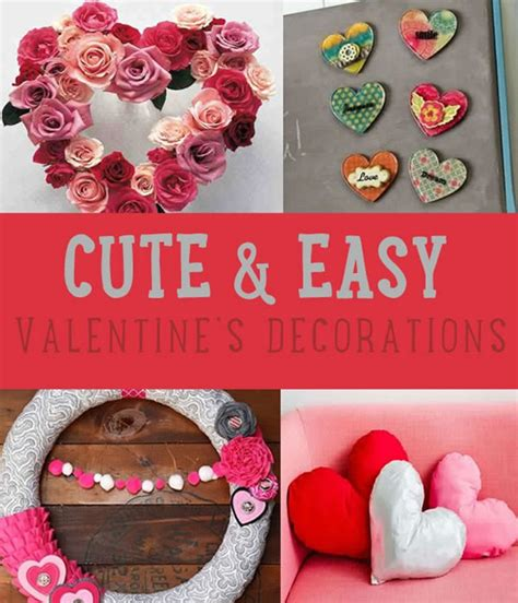 easy valentines day decorating with decoration ideas diy projects craft ideas how