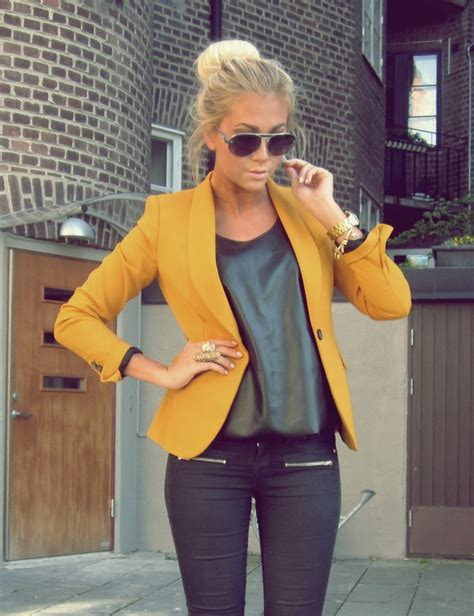 mustard color blazer mustard colored blazer fashion and trends jpyle